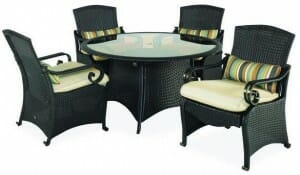 Hampton Bay Kampar Dining Set Replacement Cushions