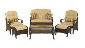 Hampton Bay Kampar 6pc Set Replacement Cushions