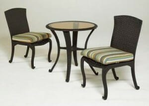 Hampton Bay Kampar Bistro Set Replacement Cushions