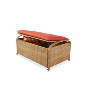 Hampton Bay Sanopelo Deck Bench Box Replacement Cushion