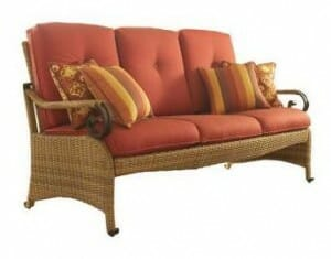Hampton Bay Kampar Woven Sofa Replacement Cushions