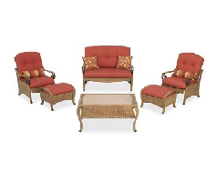 Hampton bay Sanopelo Patio Furniture Set Replacement Cushions