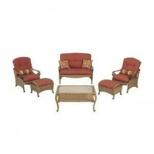 Martha Stewart Living Belle Isle  6 Pc Seating Set