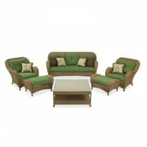 Hampton Bay Chateau 6 Pc. Set Replacement Cushions