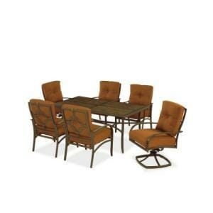 Hampton Bay Palm Canyon 7 Pc. Dining Set Replacement Cushions