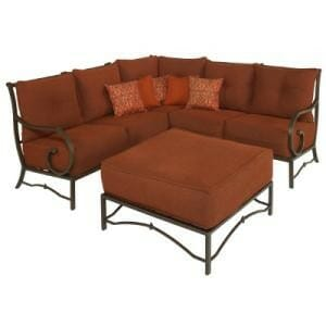 Hampton Bay Tobago 6pc Sectional Set Replacement Cushions