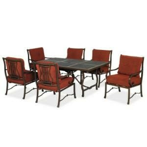 hampton bay tobago 7 pc dining set replacement cushions