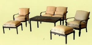 Hampton Bay Verrado Patio set Replacement Cushions