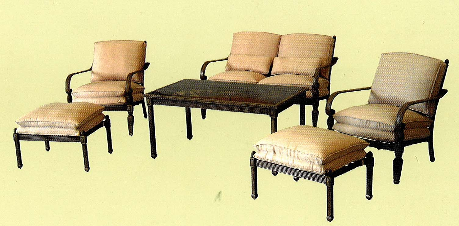 High Quality Hampton Bay Verrado Patio Set Replacement Cushions