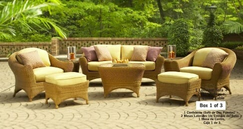 Hampton Bay Santa Rosa Outdoor Replacement Cushion Sets