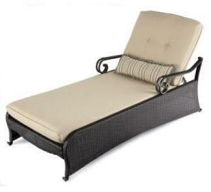 Hampton Bay Kampar Chaise Lounge