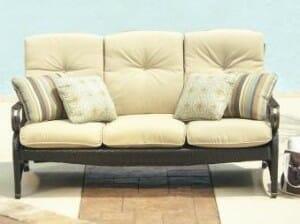 Hampton Bay Sanopelo Woven Sofa