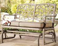 Hampton Bay Folian Glider Bench Replacement Cushion